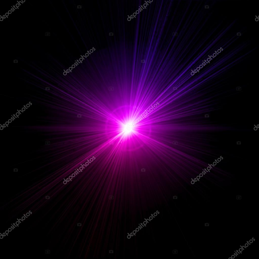 Light flare pink effect. Vector