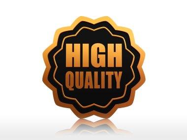High quality starlike label