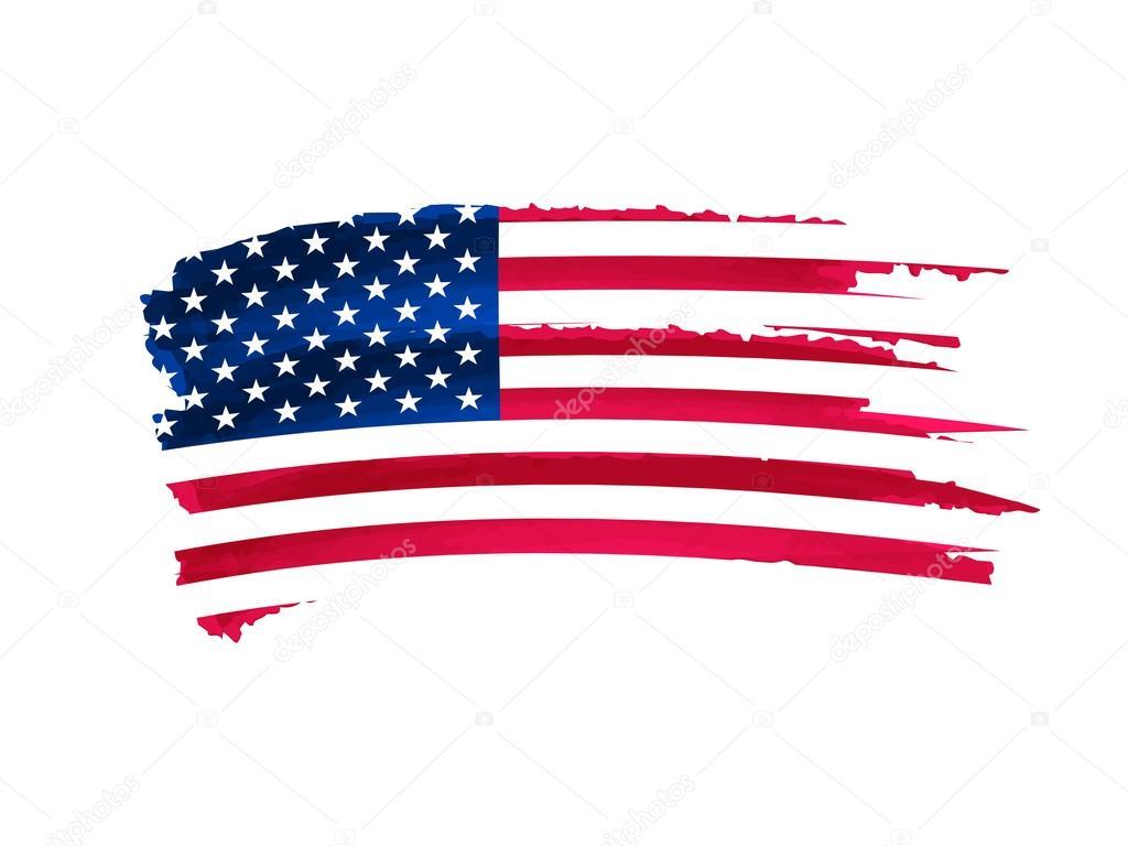 Dibujos La Bandera De Estados Unidos Bandera Usa Dibujo Foto De