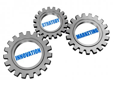 innovation, strategy, marketing in silver gears