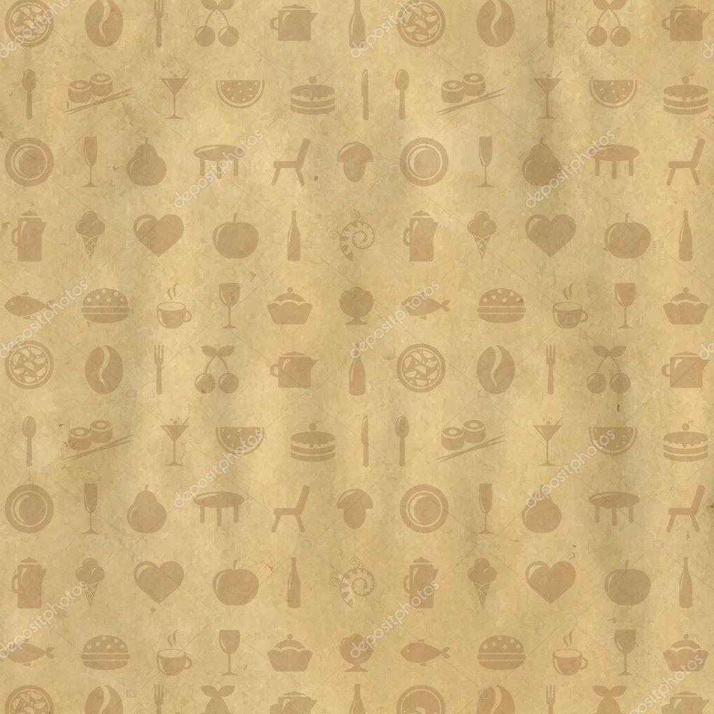 Restaurant Menu Wallpaper
