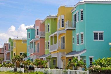 Colorful Beach Condominiums