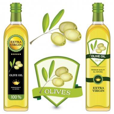 Labels olive oil