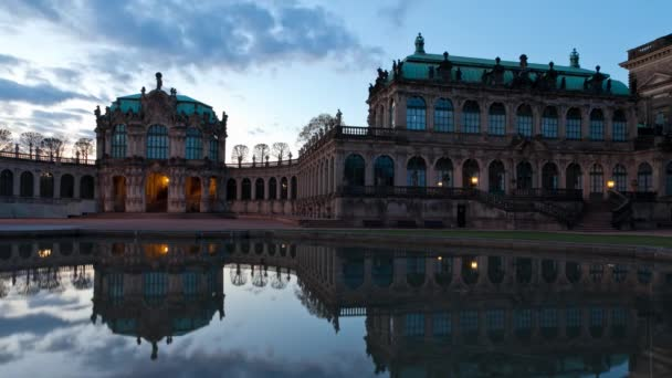 At the Zwinger Palace