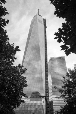 Memorial at World Trade Center Ground Zero New York