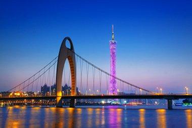 Zhujiang River and modern building