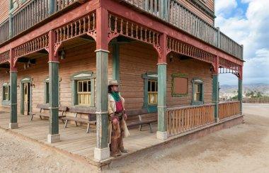 Cowboy at Mini Hollywood