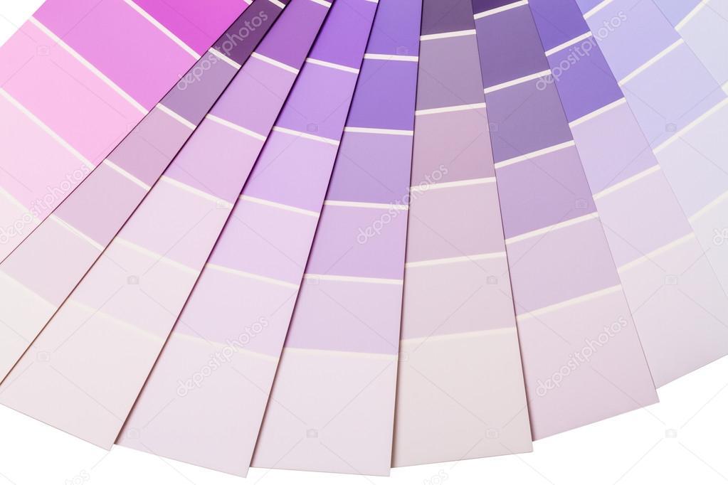 Pareti Viola E Lilla : Gamma di colore viola e lilla u foto stock ra rn