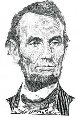 Abraham Lincoln portrait (vector)