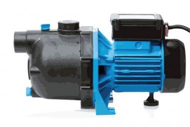 Water pump (vector)