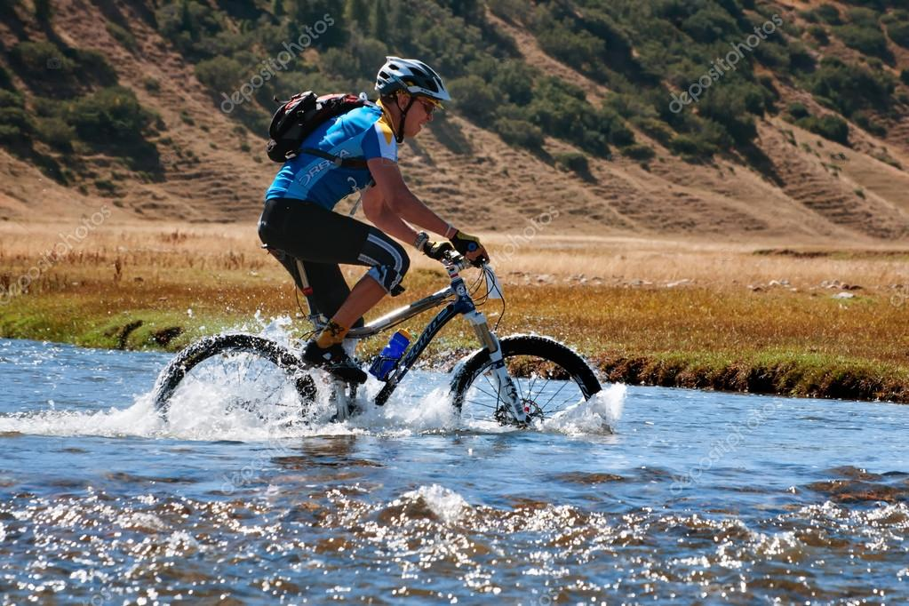 Mountain bike cross-country marathon
