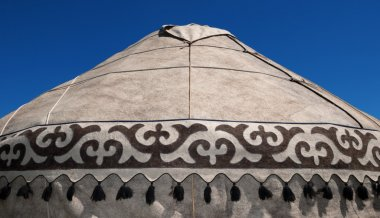 Detail of yurt