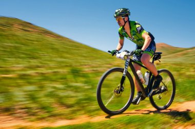 Mountain bike adventure competition
