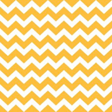Thanksgiving Chevron pattern - yellow and white