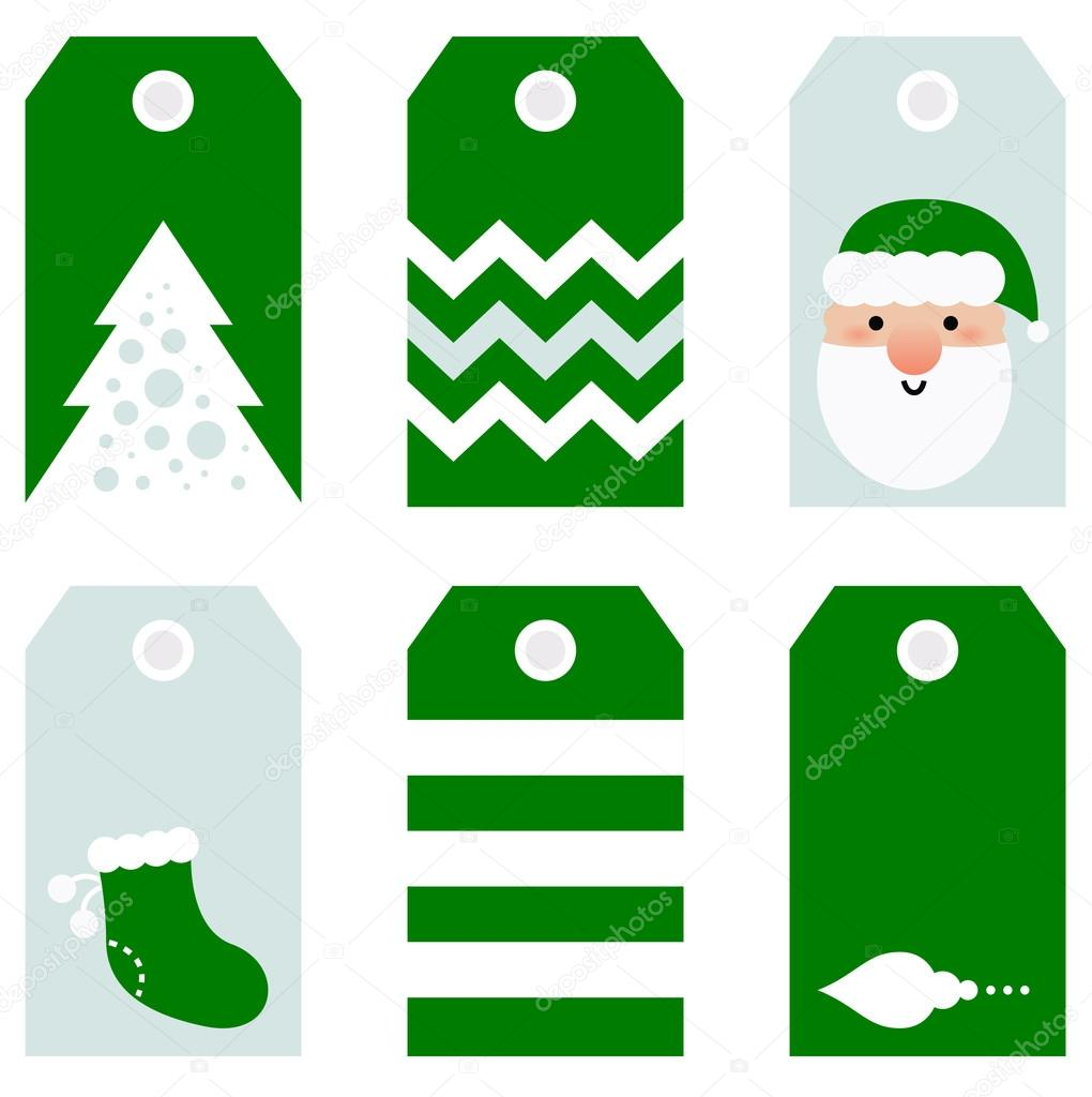 lindo regalo de vacaciones de Navidad moderno etiquetas imprimibles ...