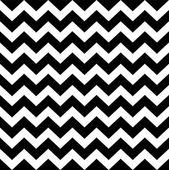 cik cak jednoduchý vzor - černé a bílé