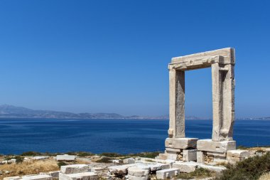 Apollo Temple entrance, Naxos island