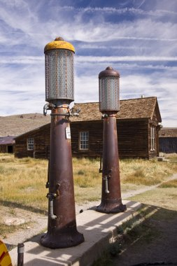 Old Time Gas Pumps