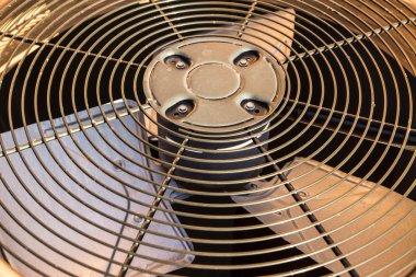HVAC Condenser Fan Close Up