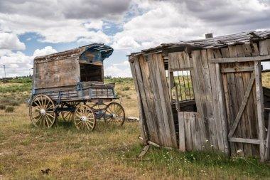 Old Time Cowboy Sheriff's Wagon