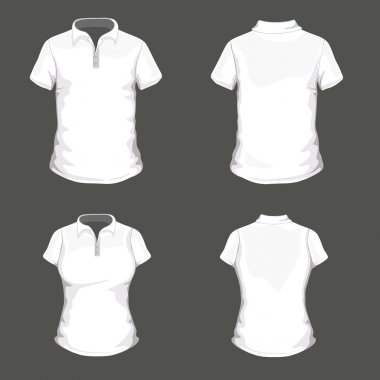 Polo Shirt Design Template
