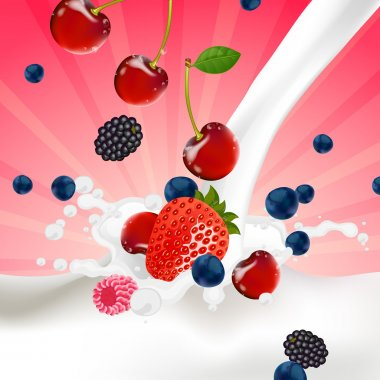 Berries Splash