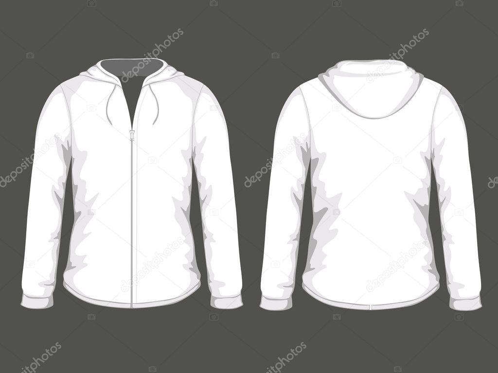 White hoodie templates — Stock Vector © ramonakaulitzki #14571743