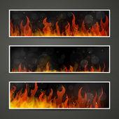 horké burnimg oheň