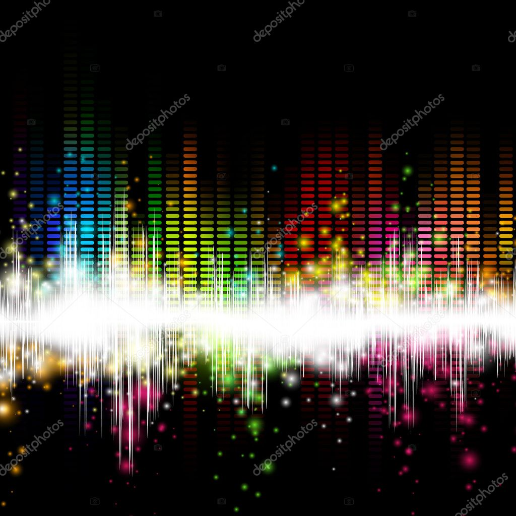 Colorful Music Equalizer