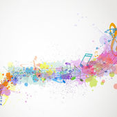 Colorful music design