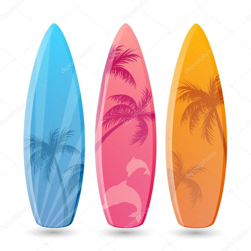 dessins de planche de surf illustration