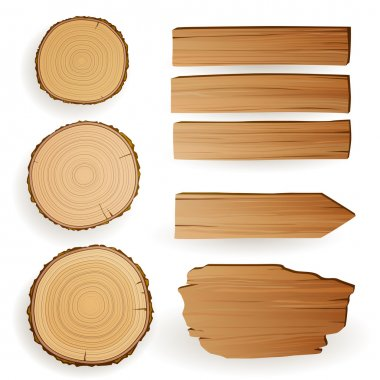 Wood Material Elements