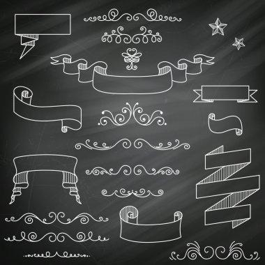 Vintage Chalkboard Elements