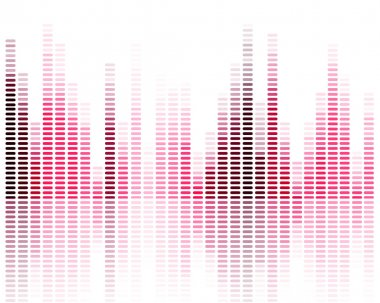 Vector Illustration of a Music Equalizer stock vector