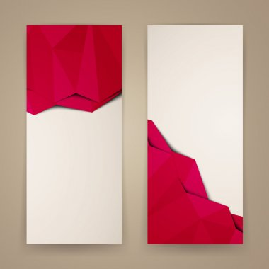 Vector Illustration of Abstract Banners clip art vector
