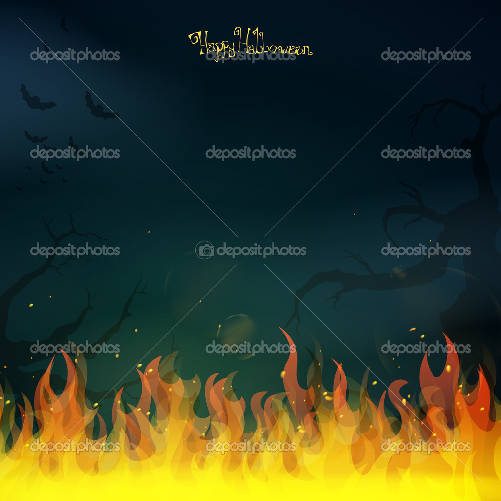Background image 8841 - Scary Halloween Background Stock Vector 32884197