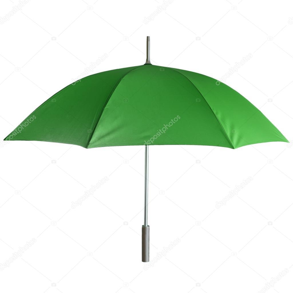 a pies en elegir oficial nueva llegada Paraguas verde — Fotos de Stock © Dmitry.Zimin #37743625