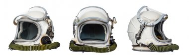 Set of space helmets