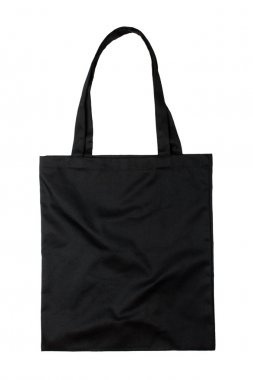Black fabric bag