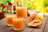 Fotografie Papaya Juice
