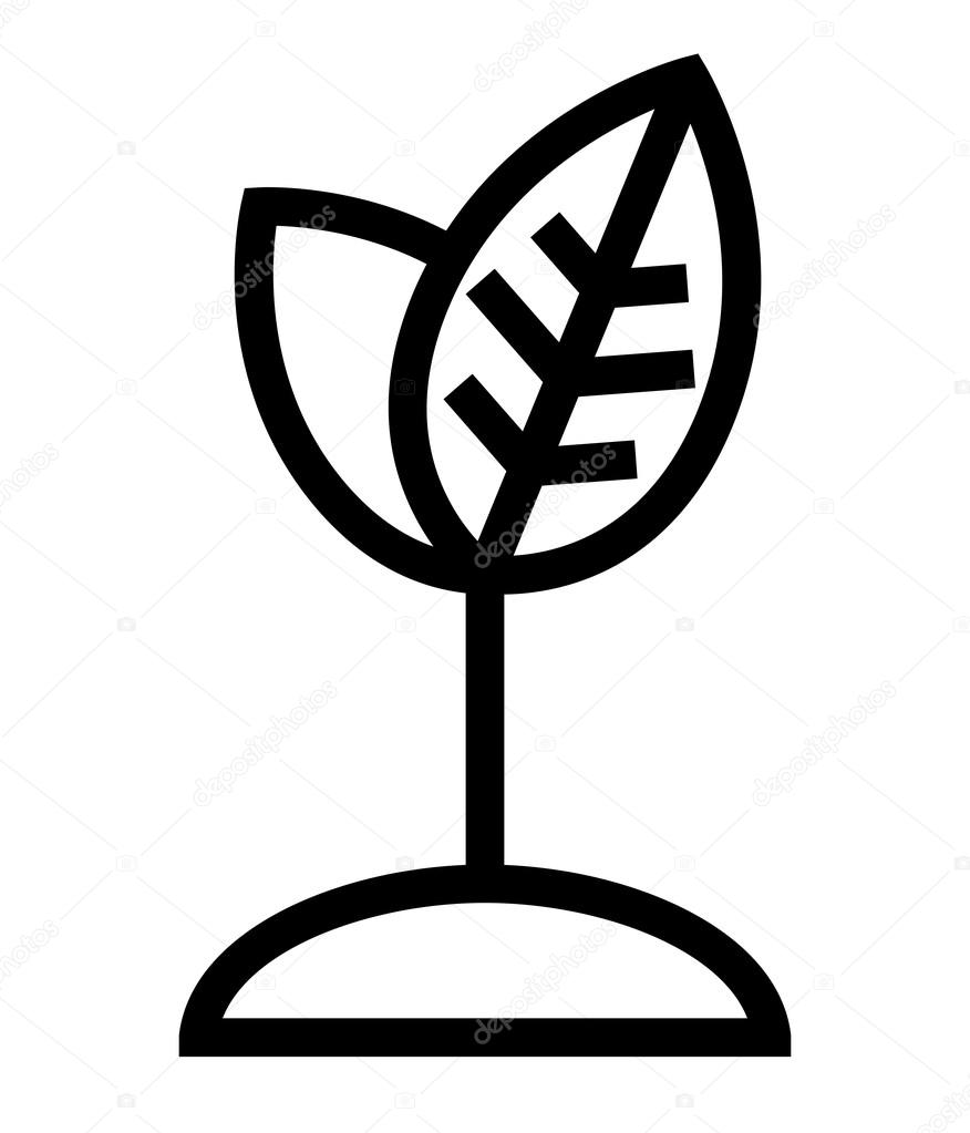 Plant growth icon — Stock Vector © furtaev #37089731