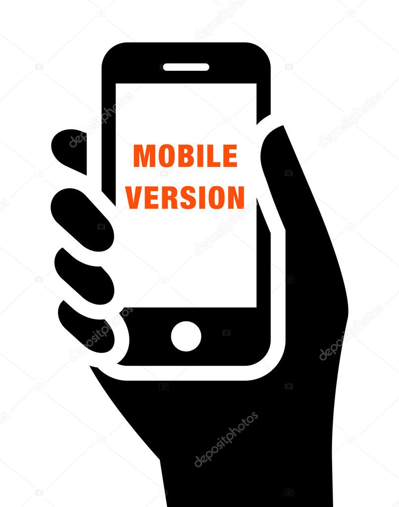 Mobile Website Icon Stock Vector Furtaev 41214855