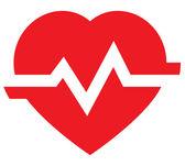 Fotografia icona della frequenza cardiaca