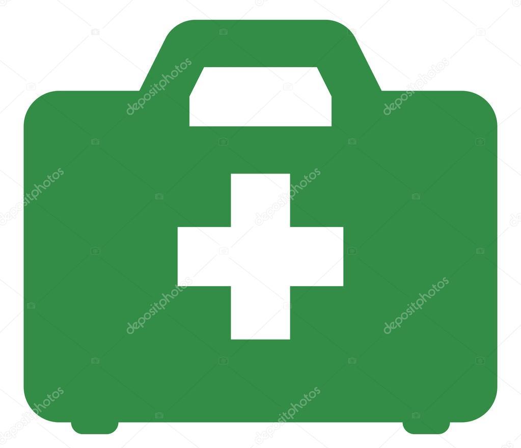 Erste hilfe symbol  Hilfe-Kit-Symbol — Stockvektor #44108503