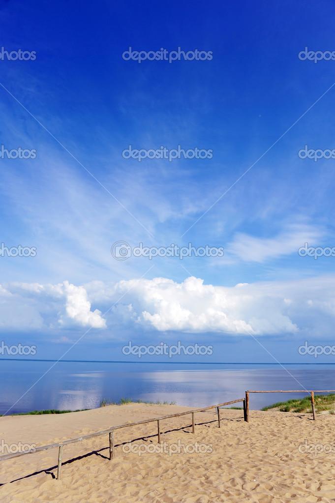 Fences in dunes