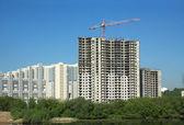 Fényképek teherfelemelkedési torony daru építőipari új lakóházak