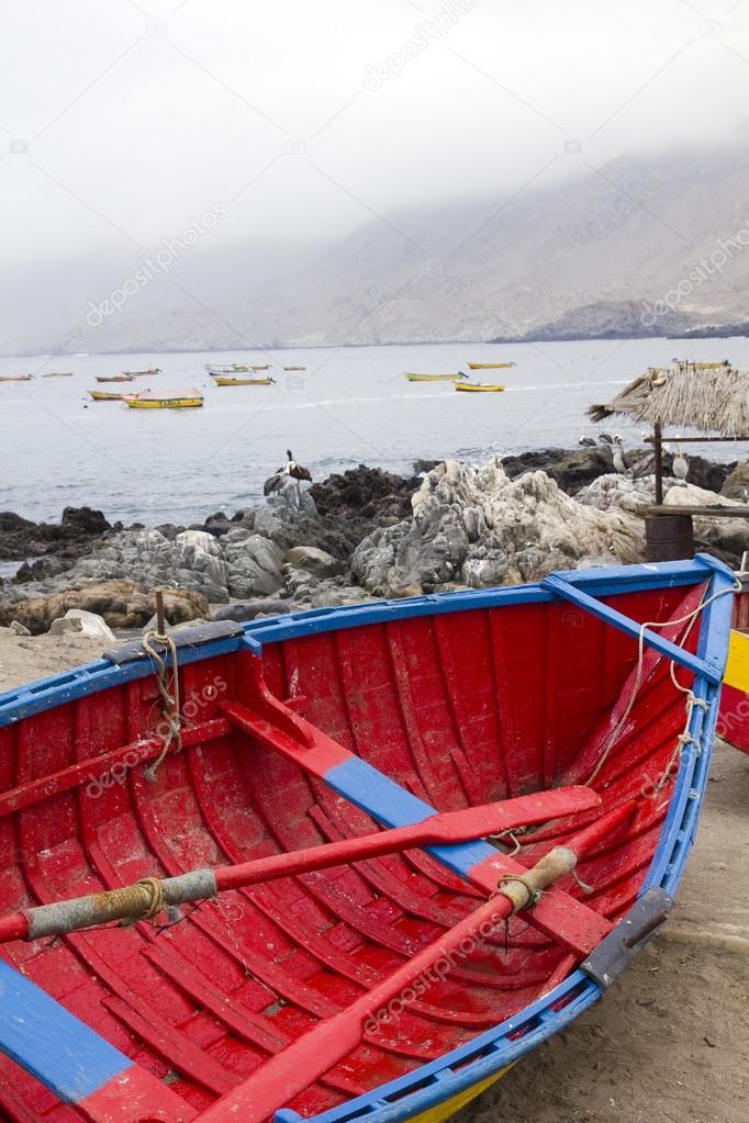 Traditional fishing boats,