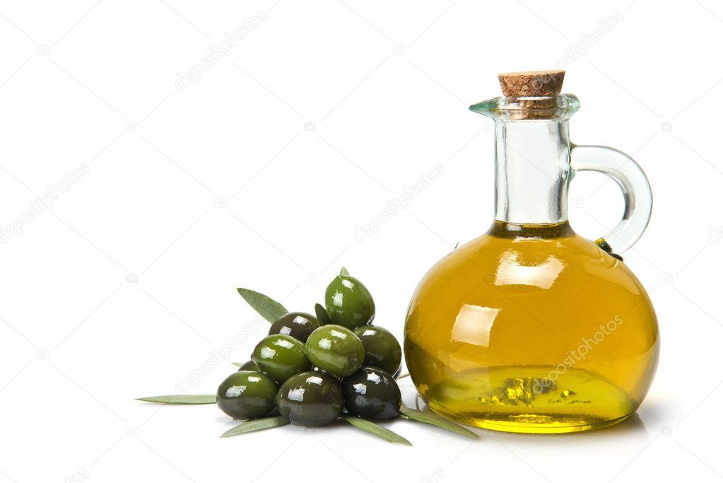 Olive oil for a healthy diet