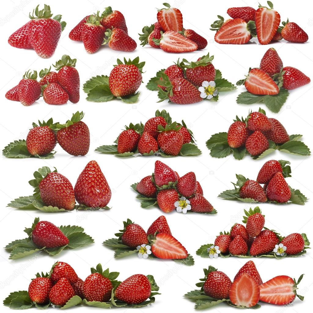 Great set of photographs of strawberries