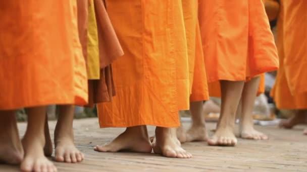 mniši chůze